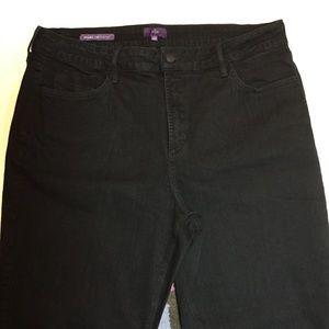 NYDJ - Marilyn/Straight Jean - Black - Size 16W